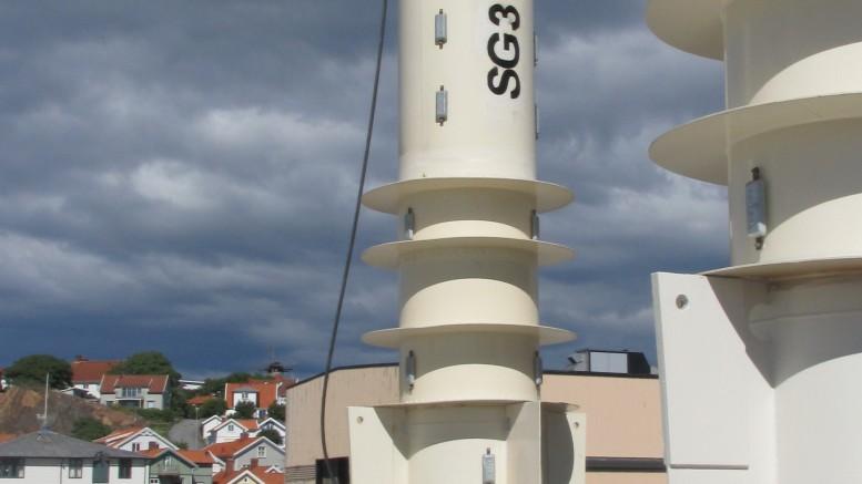 Seabased Vågkraftverk, Sotenäs, denna del placeras på havsbotten
