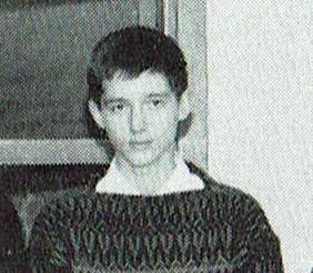 Henning Mankell, 14 år, elev på Högre Allmänna Läroverket i Borås
