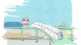 Planfri korsning vid Centralstationen